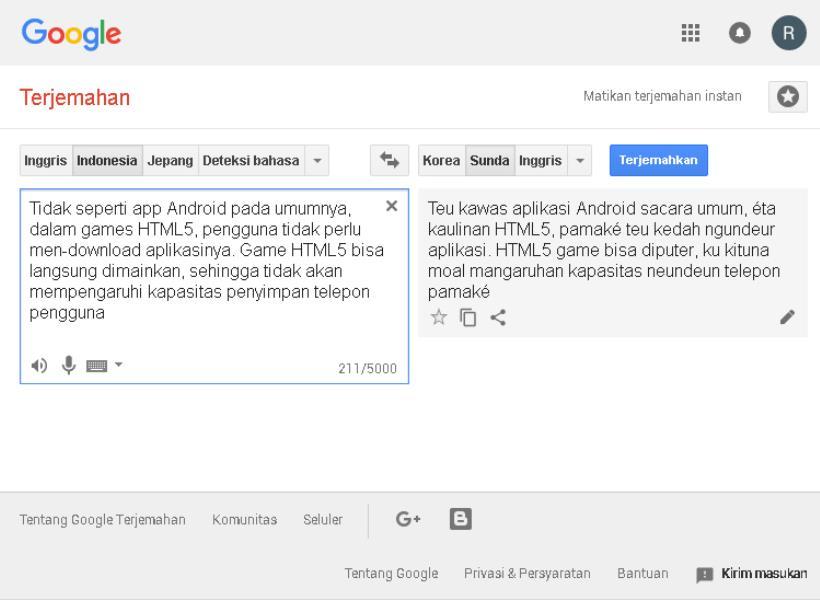 Smartfren Store Google Umumkan Dukungan Untuk Bahasa Jawa Dan Sunda