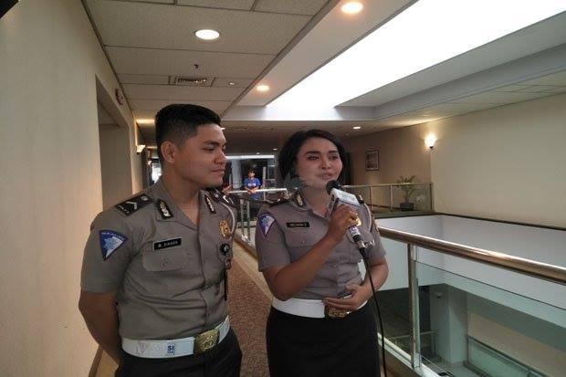 Polisi Ikut Ajang Indonesian Idol