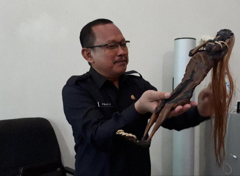 Penampakan Jenglot di Surabaya yang Bikin Geger