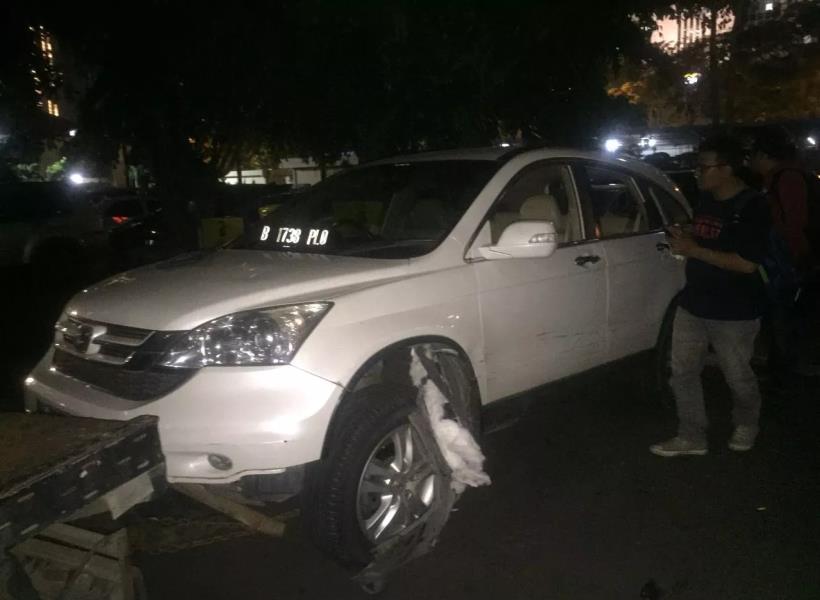 Pengendara Honda CRV Itu Ternyata Mengidap Gangguan Jiwa