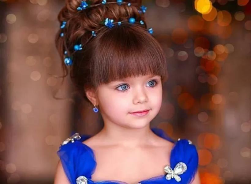 Punya Mata Indah, Anak Ini Dianggap Paling Cantik Sedunia