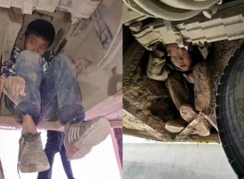 Nekat, Dua Bocah Sembunyi di Kolong Bus Selama 3 Jam