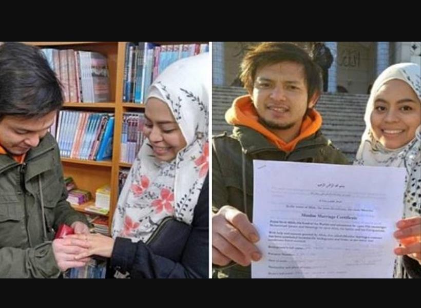 Cuma 4 Menit, Pasangan Ini Menikah di Perpustakaan Korea