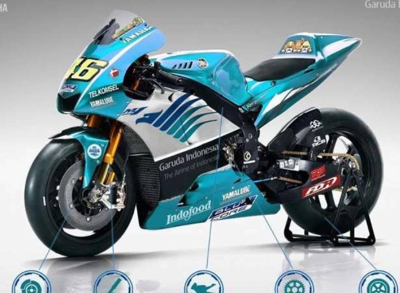 Indonesia Sponsori Rossi di MotoGP 2019?