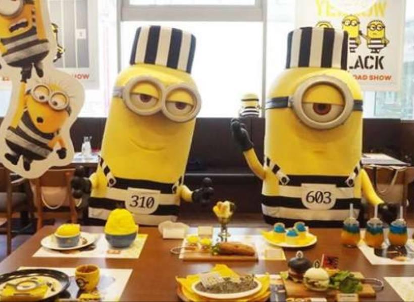 Kehadiran Minions Cafe