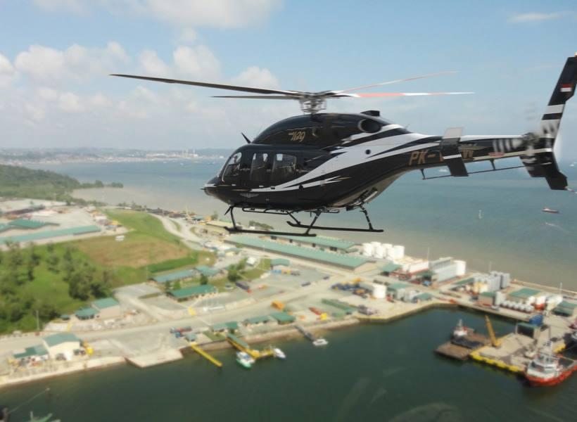 Tarif Keliling Kota Naik Helikopter