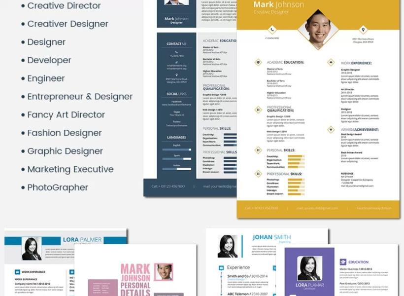 Beragam Layanan Desain CV yang Bisa Dipakai Gratis
