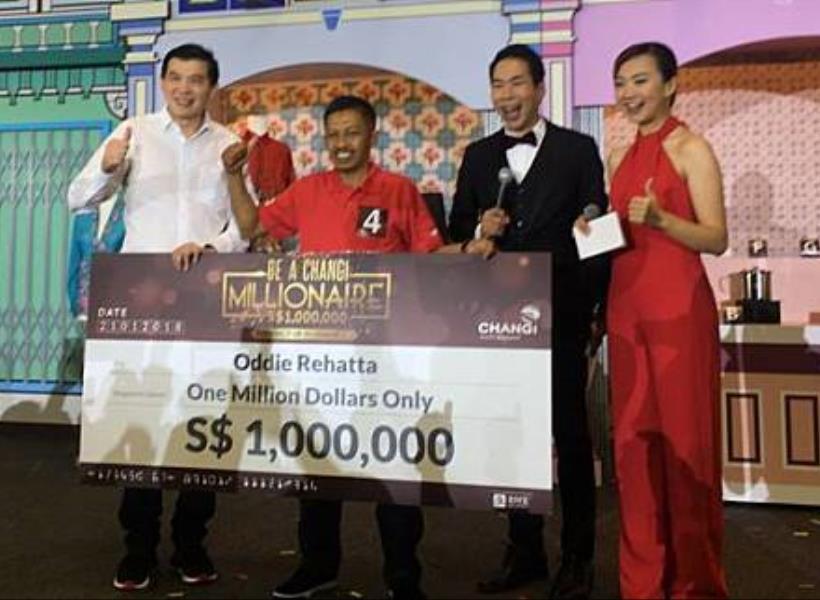Turis Indonesia Menang Undian Rp 10 Miliar di Bandara Changi