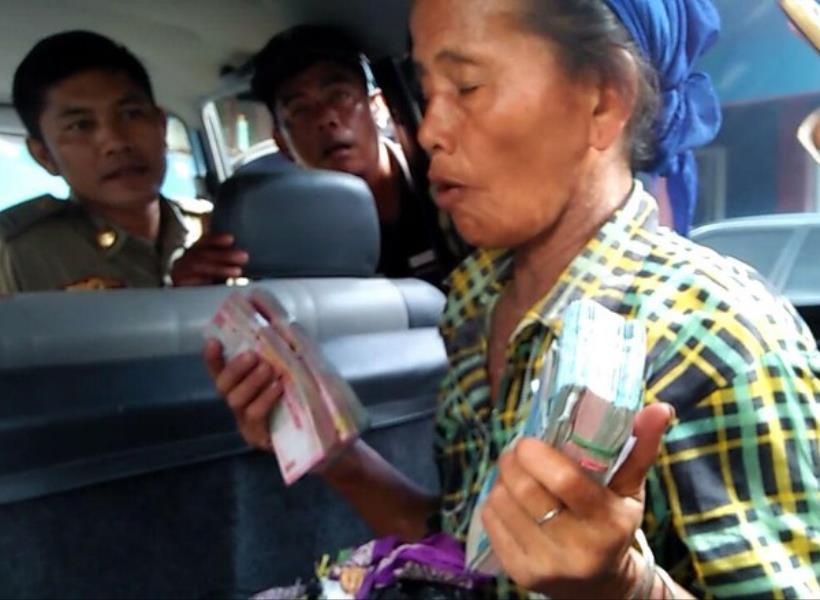 Pengemis di Tasikmalaya Bawa Uang Rp 43 Juta Saat Terjaring Razia