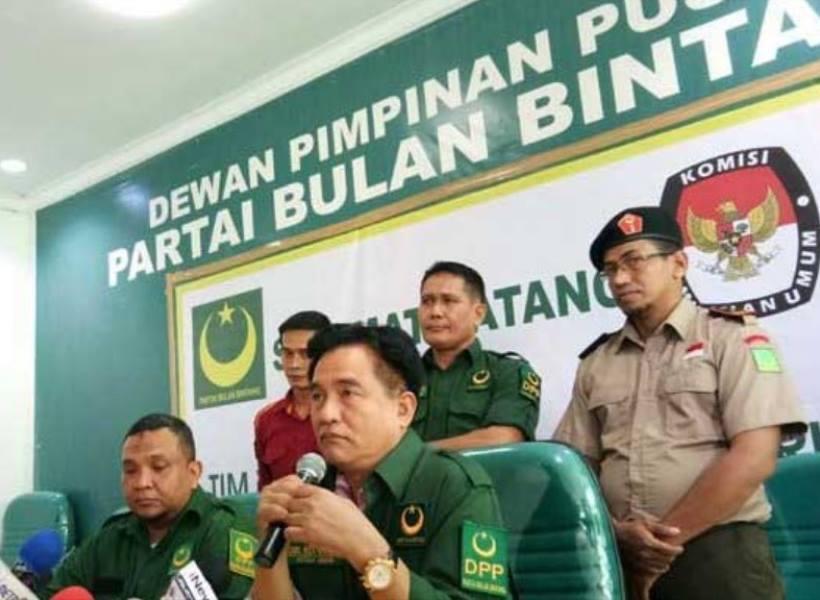 Partai Bulan Bintang Jadi Ikut Pemilu 2019