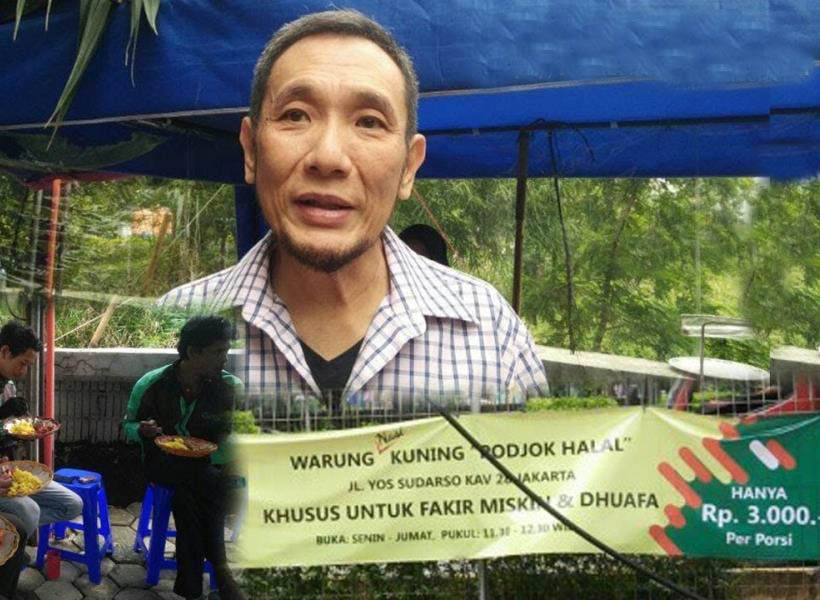Warung Podjok Halal Sediakan Seporsi Makanan Seharga Rp3000