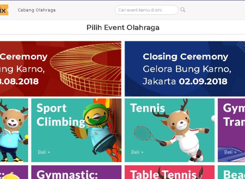 Mau Nonton Asian Games? Ini Cara Beli Tiketnya