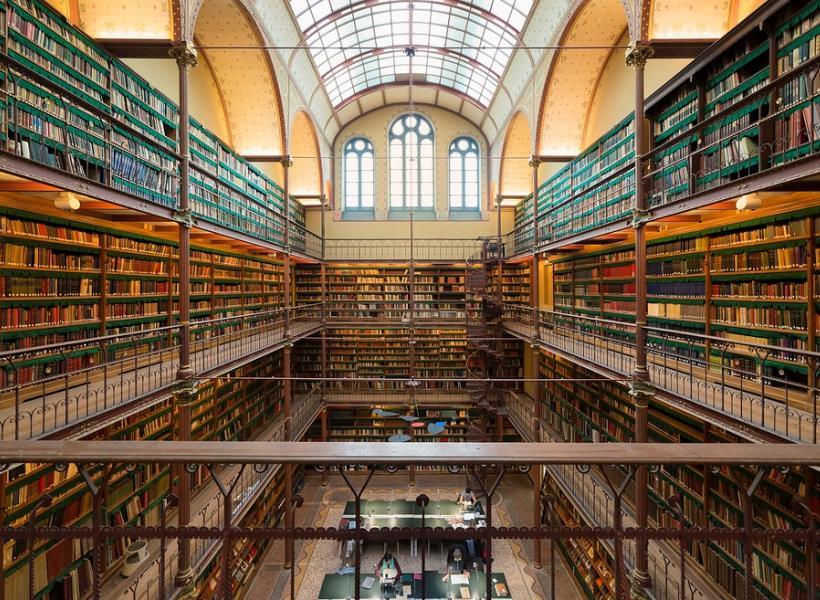Perpustakaan Cantik Terbesar dan Tertua di Belanda