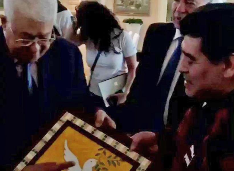 Dukungan Maradona Untuk Palestina