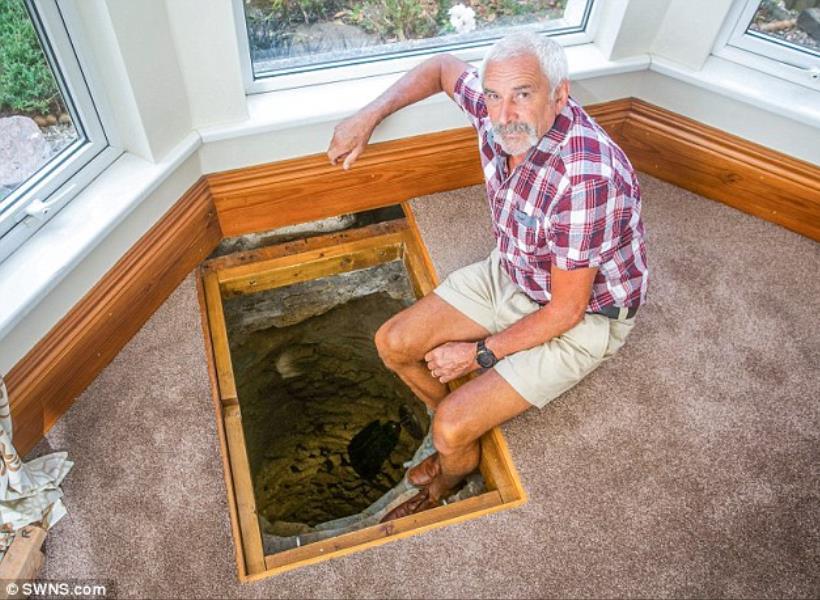Kaget Temukan Sumur Tua dalam Rumah