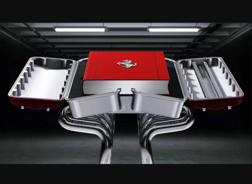 Buku Sejarah Ferrari Seharga Mobil Baru