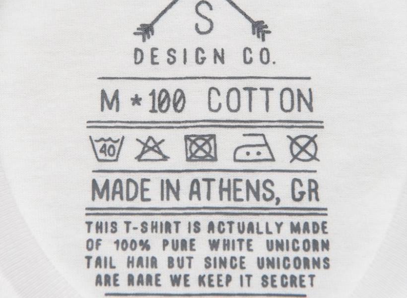 Arti Simbol di Label Pakaian