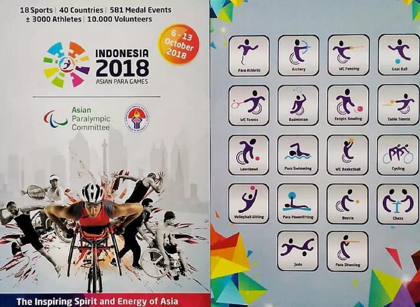 Difabel Gratis Nonton Asian Para Games 2018