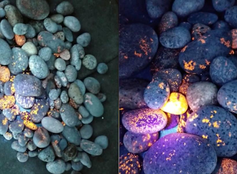 Yooperlite, Batu Unik Bisa Bersinar