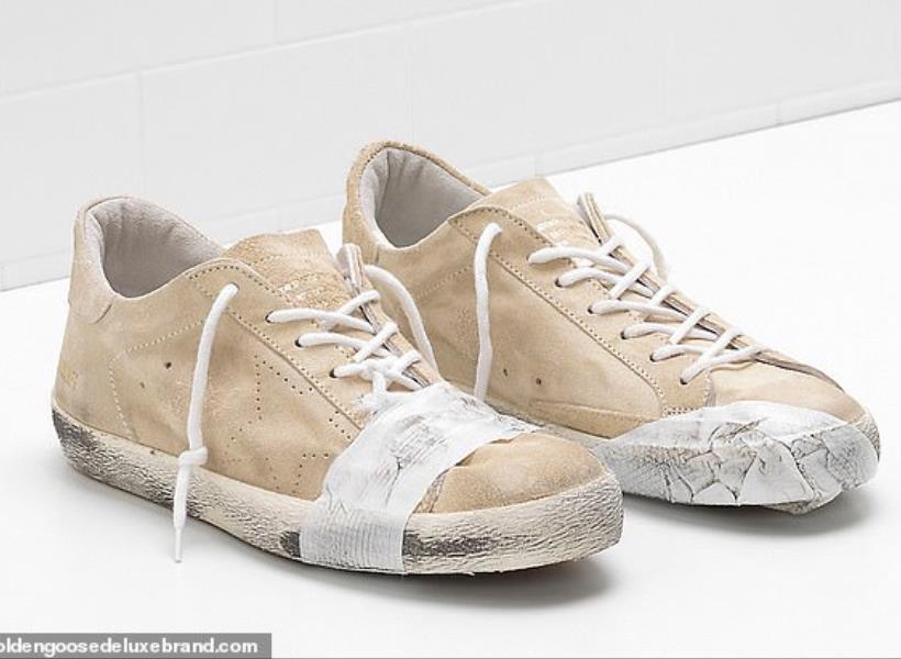 Dianggap Melecehkan Kaum Miskin, Sepatu Rusak Dijual Harga Jutaan