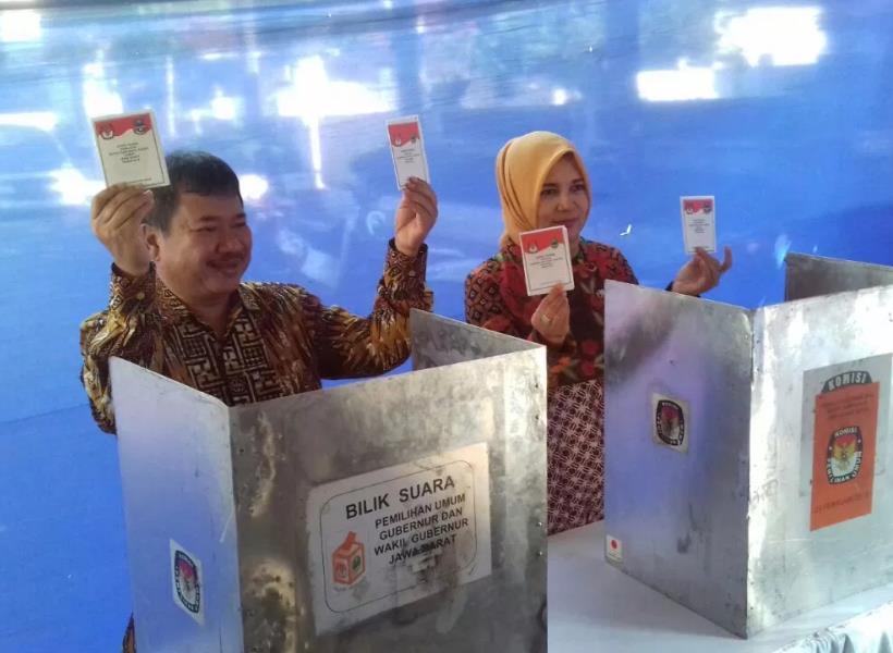 Bupati Jadi Timses Prabowo, Istrinya Jadi Timses Jokowi