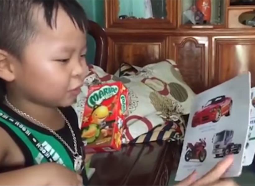 Ajaib, Bocah Vietnam Fasih Berbahasa Inggris Tanpa Belajar