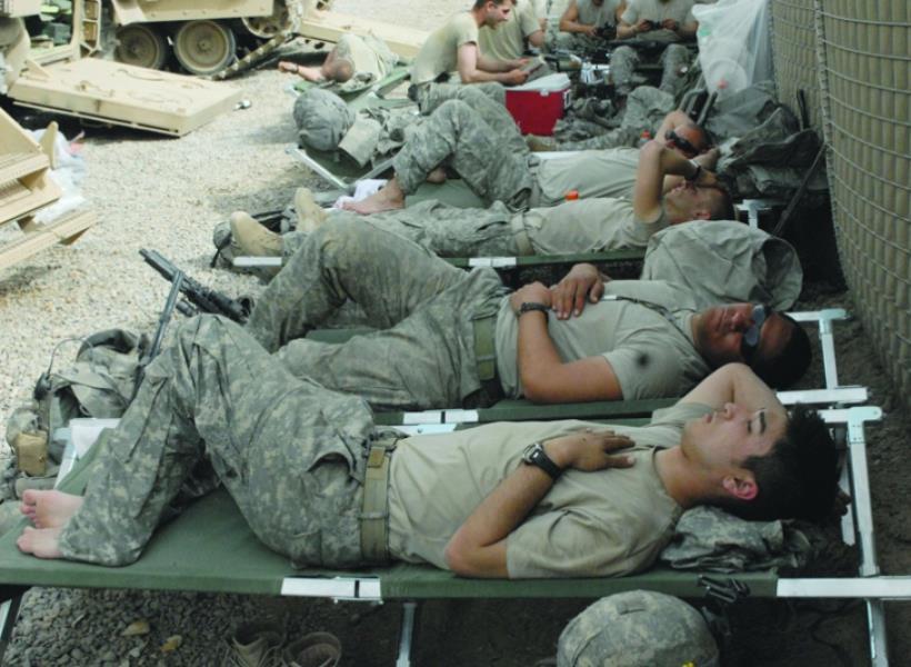Trik Tidur Cepat ala Tentara
