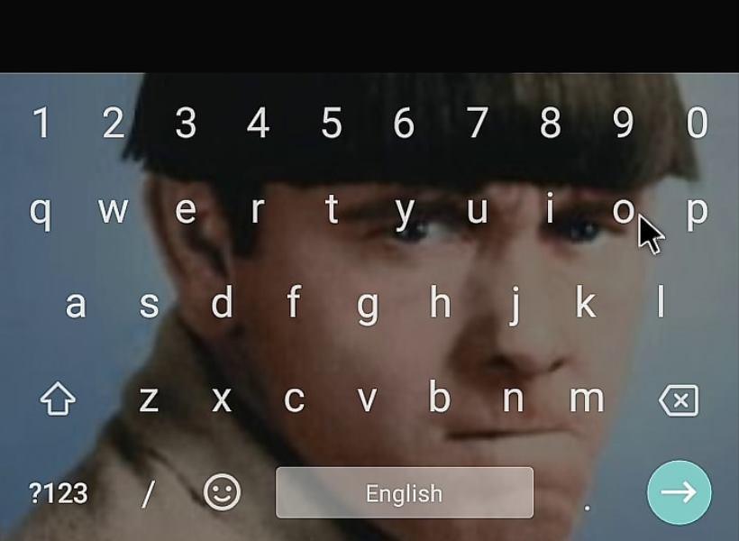 Keyboard Android dengan Latar Belakang Foto Sendiri