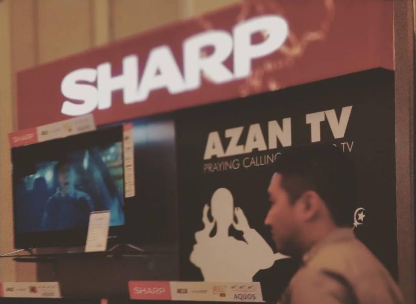 Sharp Rilis TV Ada Fitur Azan-nya