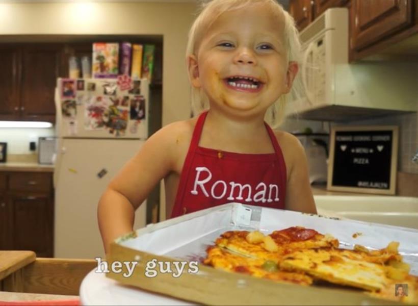 Gemas, Aksi Anak 2 Tahun Masak Pizza