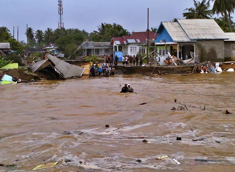 Tanda-tanda Datangnya Banjir Bandang