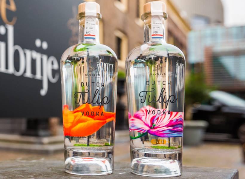 Vodka Dari Bunga Tulip