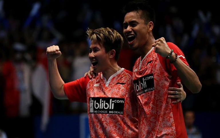 Komentar Butet dan Owi Seusai Memenangkan Indonesia Open 2017