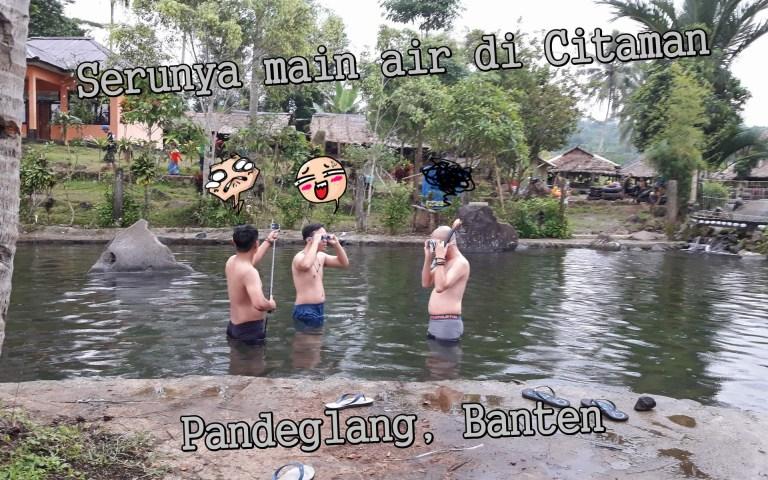 Review Wisata - Citaman, Banten