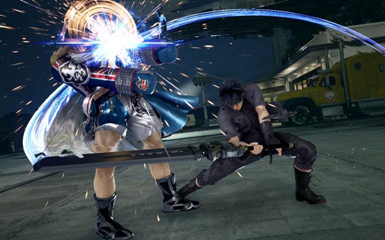 Tekken 7 x Noctis FF XV