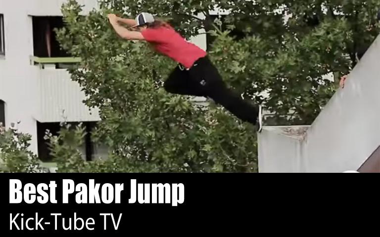 20 Lompatan Paling Extrime (Pakor Jump)