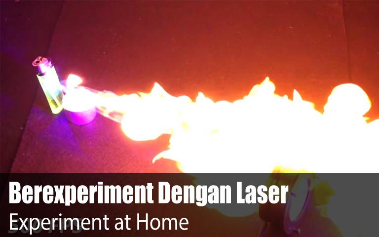 Mengenal dan Berexperiment Dengan Sinar Laser