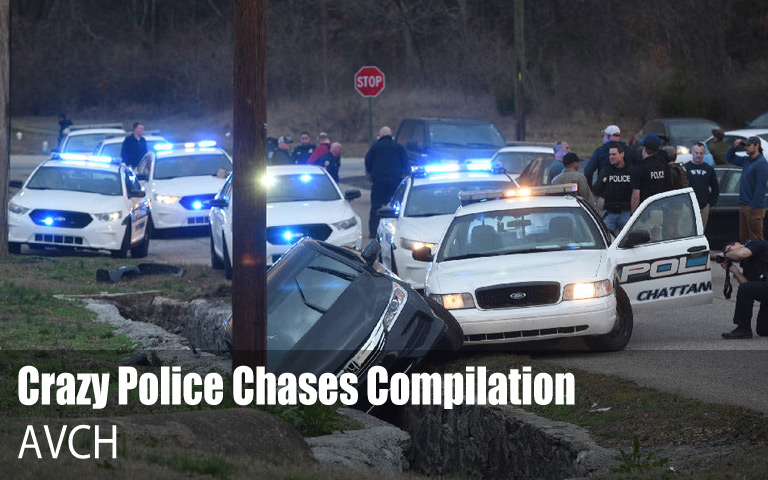Crazy Police Chases Compilation