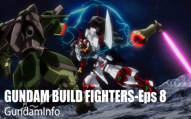 GUNDAM BUILD FIGHTERS-Episode 8: Encounters of Fighters