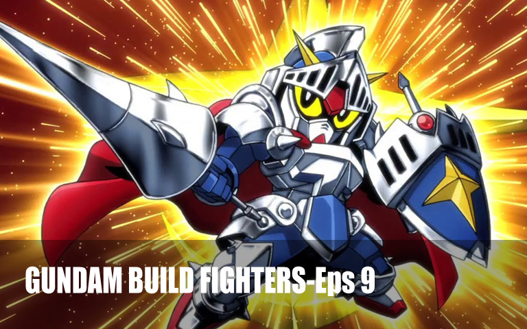 GUNDAM BUILD FIGHTERS-Episode 9: Wings of Imagination