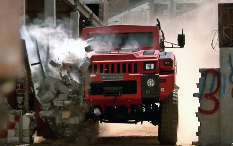 The Marauder | Mobil Militer Seberat 10 Ton
