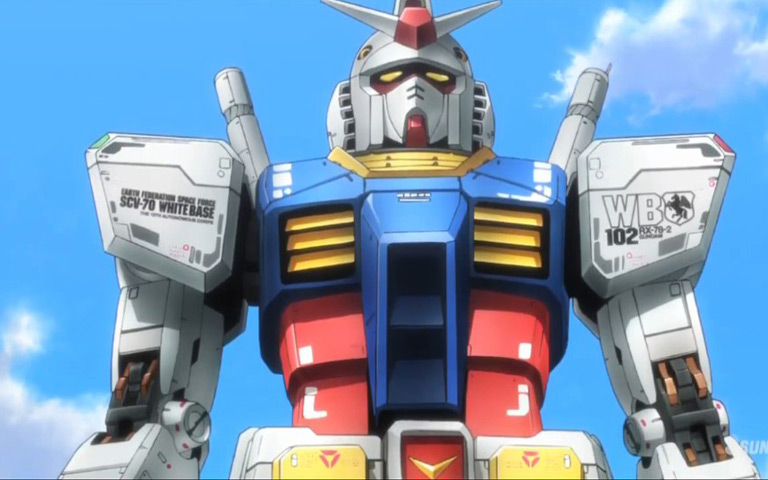 GUNDAM BUILD FIGHTERS TRY-Eps 4 | G-MUSE