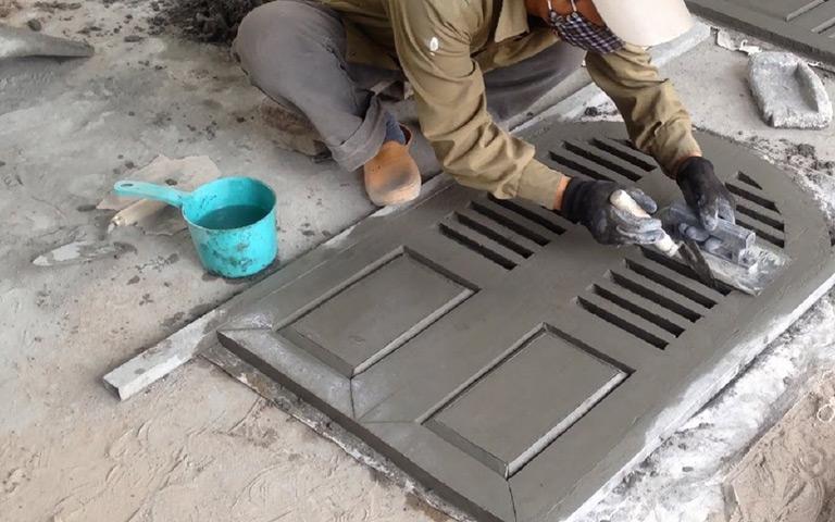 Amazing Creative Construction Worker