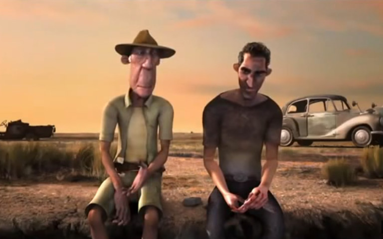 Lucu ! Film Animasi Akibat Arogan dalam Mengemudi