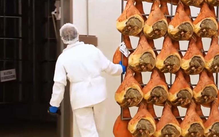 Amazing Processing Line 2018 - Parma Ham Making Inside Factory