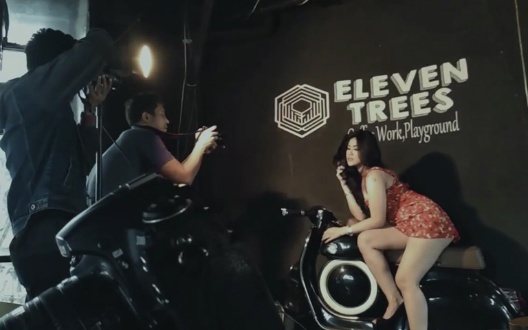 Ngangenin Seksinya! Behind The Scenes Photoshoot VALENCIA TIFFANY