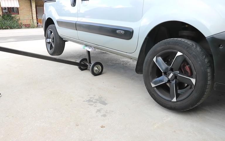 Membuat Standart Paddock Mobil Sendiri