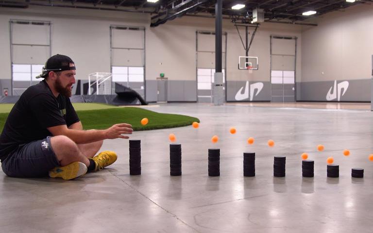 Ping Pong Trick Shots 3