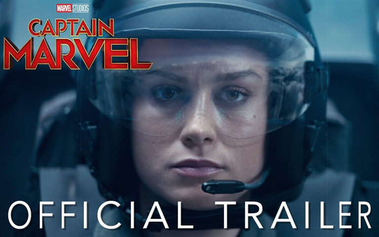 Captain Marvel - Official Trailer