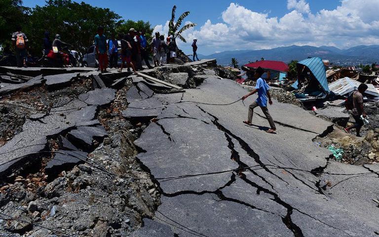 Situasi Ketika Gempa di Palu dan Donggala